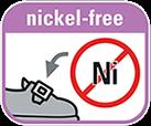 Частині з металу не містять нікель