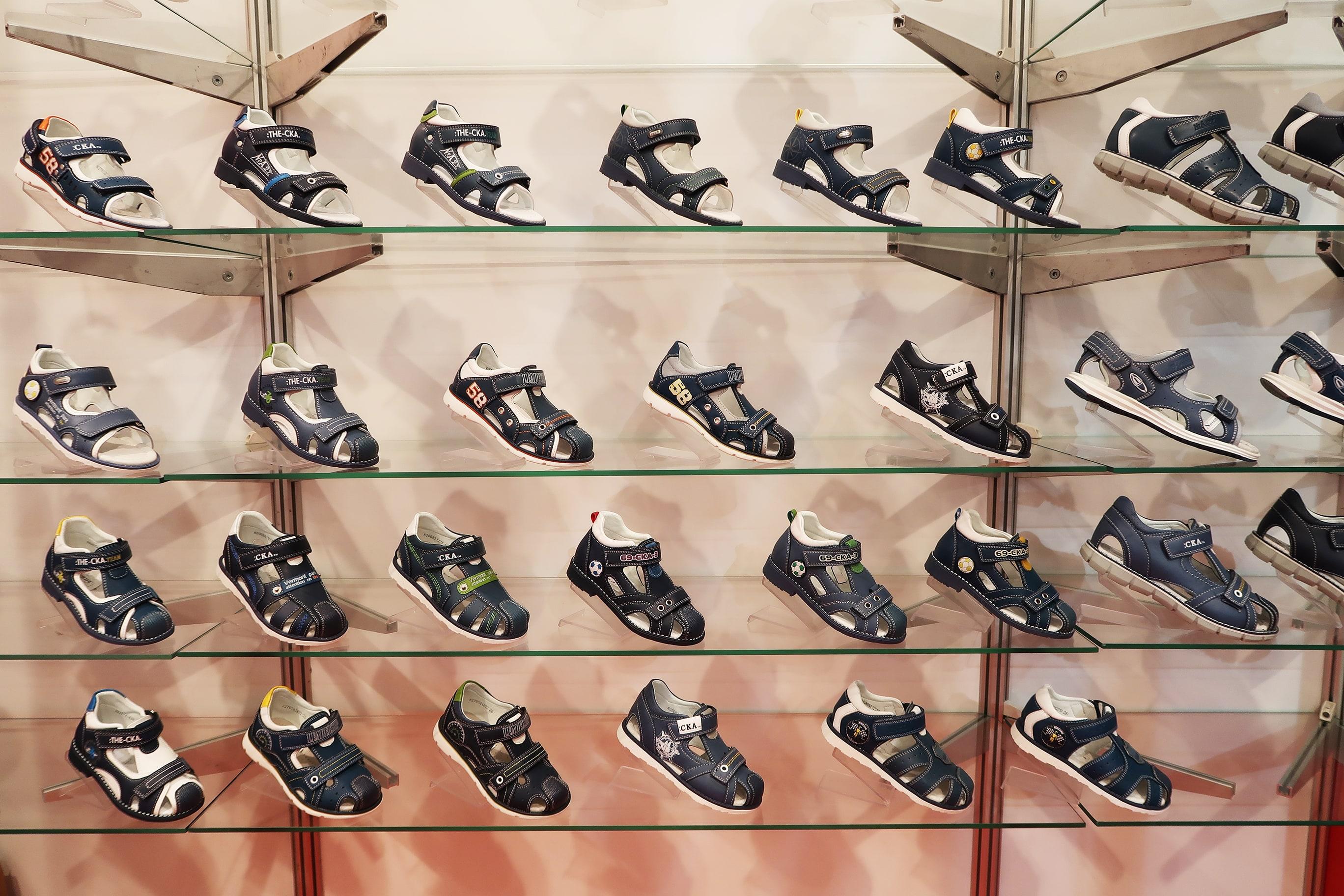 Детская обувь оптом Weestep на выставке